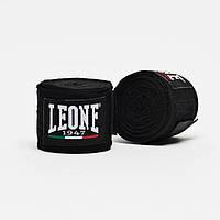 Бинти боксерські Leone Black 2,5 м, фото 1