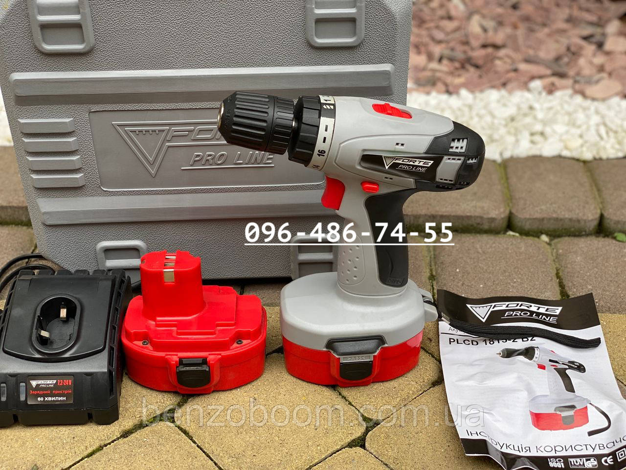 Шуруповерт аккумуляторный Forte PLCD 1815-2 B2 18 вольт