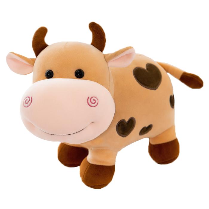 Мягкая игрушка Бычок 25 см новогодний подарок 2021 на Новый год