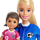 Игровой набор Барби тренер по футболу блондинка, фото 4
