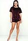 Плюшевая пижама футболка и шорты 46-48, фото 3
