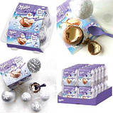 Milka Snowballs Oreo шоколадные шарики (снежки) с начинкой 4 шт, 112 грамм, фото 4