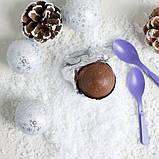 Milka Snowballs Oreo шоколадные шарики (снежки) с начинкой 4 шт, 112 грамм, фото 5