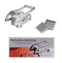 Картофелерезка Potato Chipper - прилад для нарізання картоплі фрі, фото 3