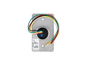 Кнопка выхода бесконтактная металлическая врезная SEVEN K-7490ND, фото 2