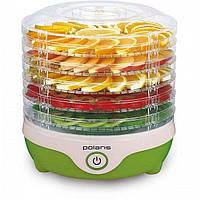 Сушилка для овощей и фруктов Polaris PFD 0305 Green