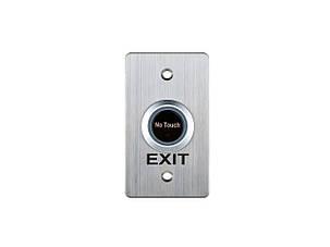 Кнопка выхода бесконтактная металлическая врезная SEVEN K-7490NT, фото 2