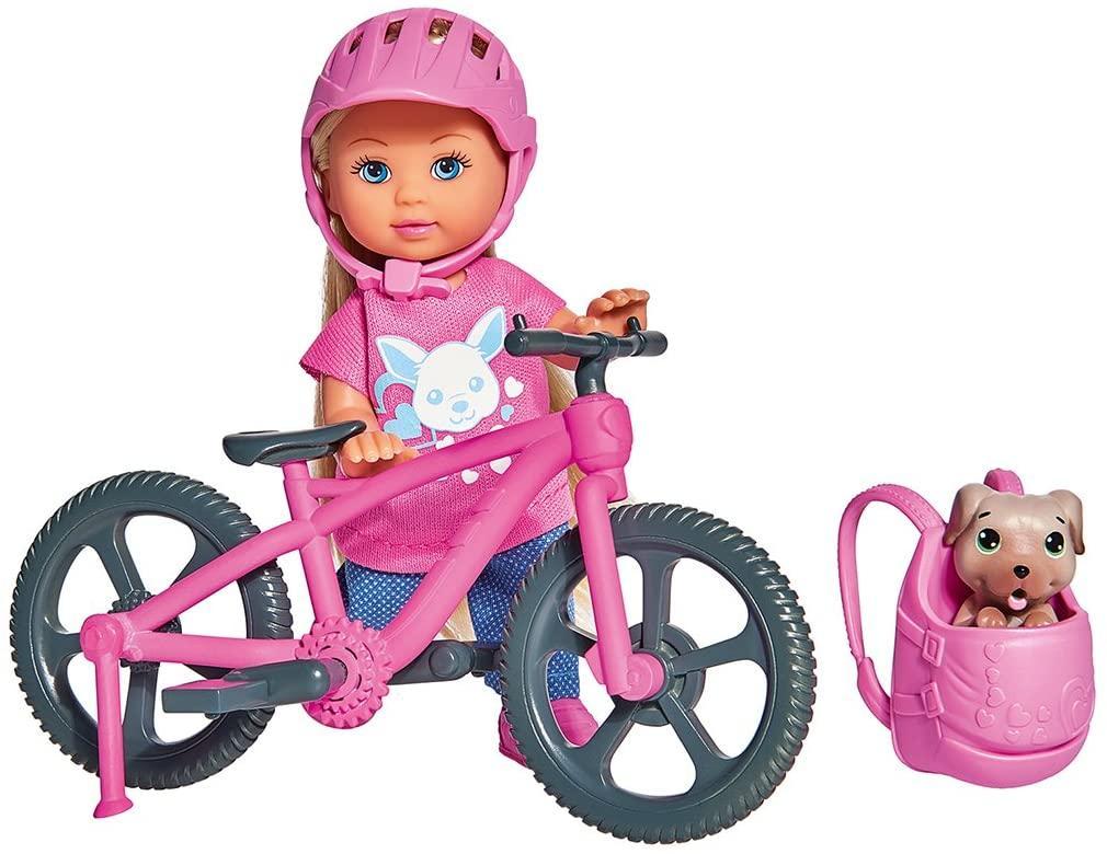 Кукольный набор Эви Холидей. На велосипеде Simba 5733273