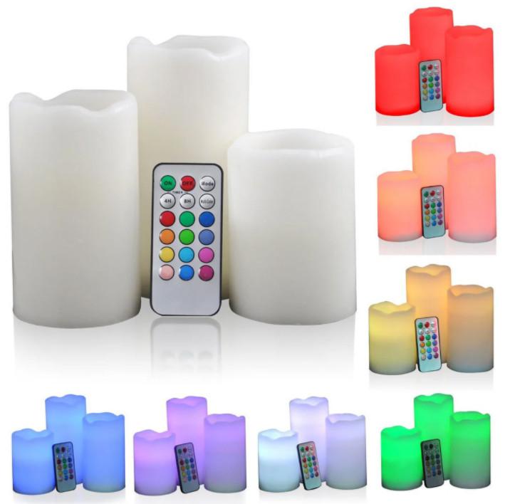 Набор светодиодных свечей LED Luma Candles 12 цветов (11740)