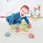 Мозаика серии Play Bio - Геометрия Макси Chunky Peggy (большие фишки (12 шт.) + доска) 84162-Q, фото 3