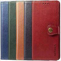 Стильный чехол-книжка для Xiaomi Redmi Note 8T / кожаный чехол на ксиоми редми нот 8Т/ сяоми/