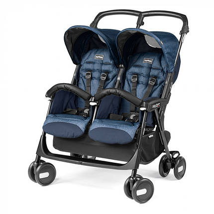 Прогулянкова коляска для двійні Peg Perego Aria Twin Shopper, фото 2