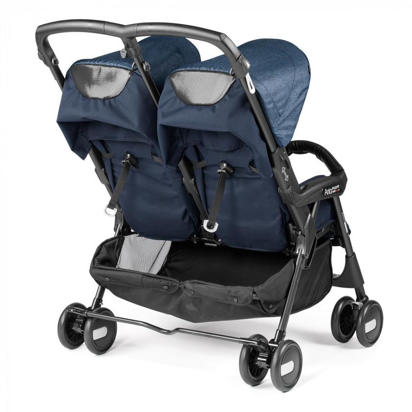 Прогулянкова коляска для двійні Peg Perego Aria Twin Shopper