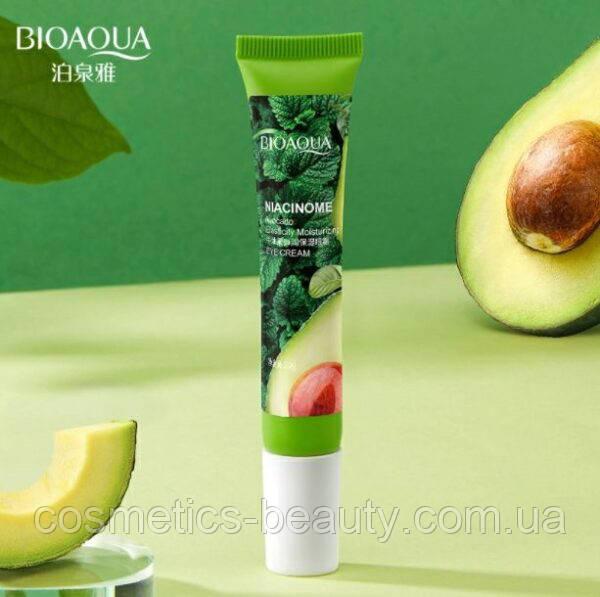 Крем для кожи вокруг глаз с экстрактом авокадо BIOAQUA Niacinome Avocado Elasticity, 20 g