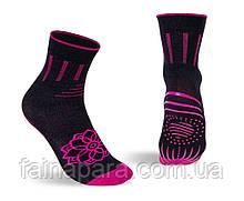 Носки для йоги и пилатеса с силиконом на подошве