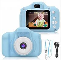 Детский цифровой фотоаппарат GM14/X200 Blue (14162)