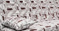 Ткань Газета Фешн