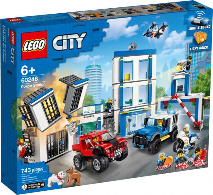 Lego City Полицейский Участок