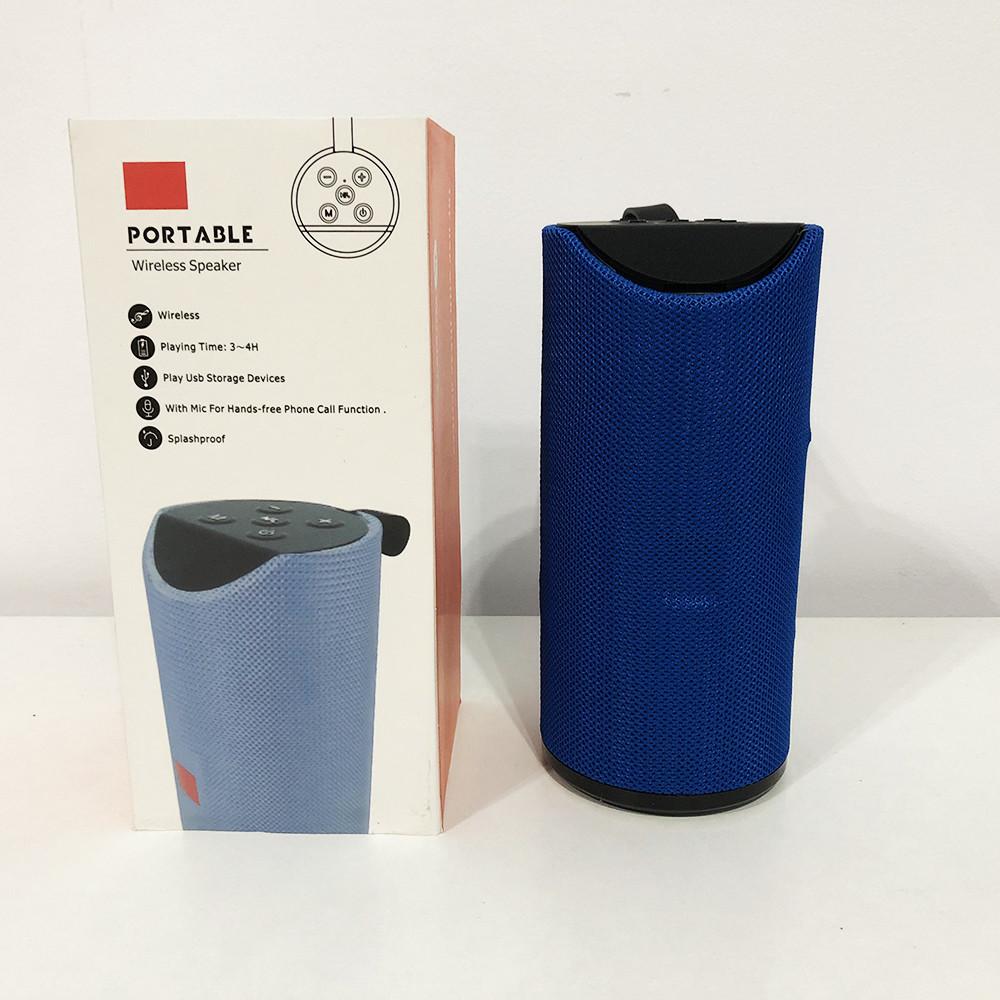 Колонка портативная bluetooth влагостойкая JBL TG-113 (аналог). Цвет: синий