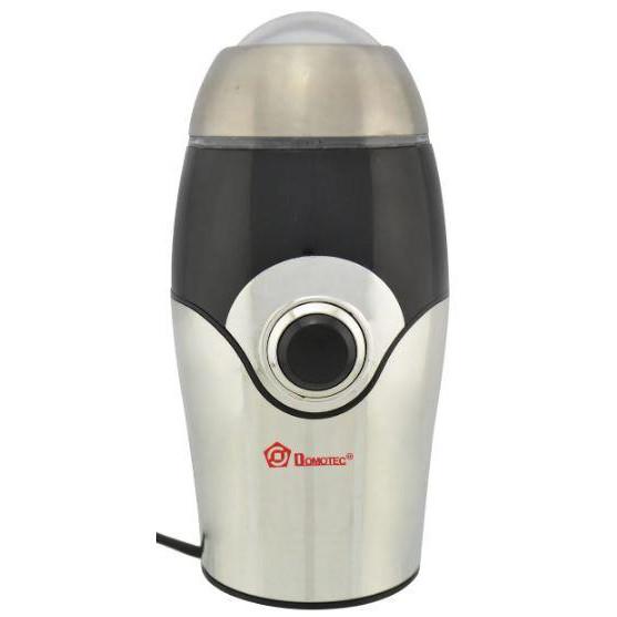 Кофемолка DOMOTEC MS-1107 Серая (150Вт, 50г)