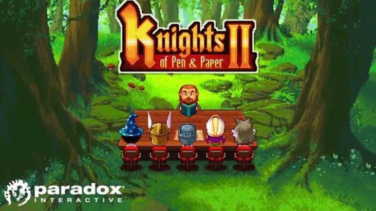 Knights of Pen and Paper 2 ключ активации ПК