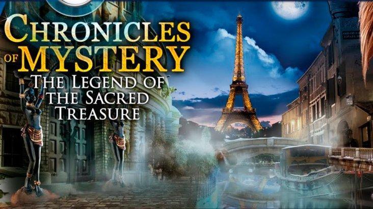 Chronicles of Mystery - The Legend of the Sacred Treasure ключ активации ПК
