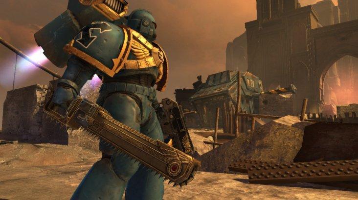 Warhammer 40,000 : Space Marine - Golden Relic Chainsword DLC ключ активации ПК