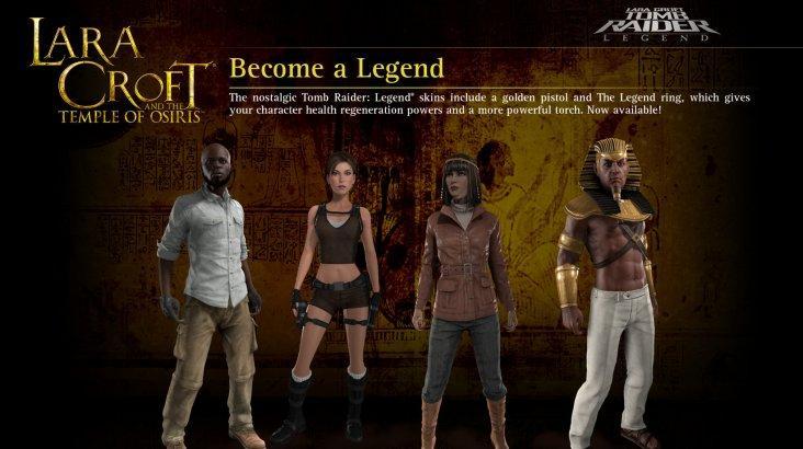 Lara Croft and the Temple of Osiris: Legend Pack ключ активации ПК