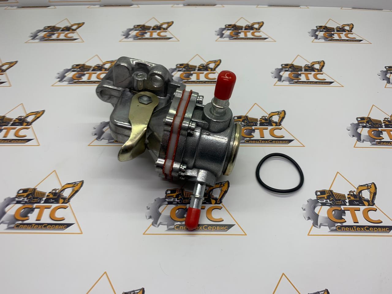 Насос подкачки топлива ручной на JCB 3CX/4CX (320/07040, 320/07201, 320/07037)