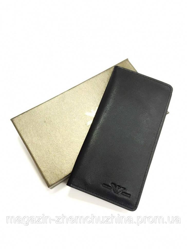 SALE! Мужская купюрница клатч кошелек Giorgio Armani A01 8710 ЧЕРНЫЙ