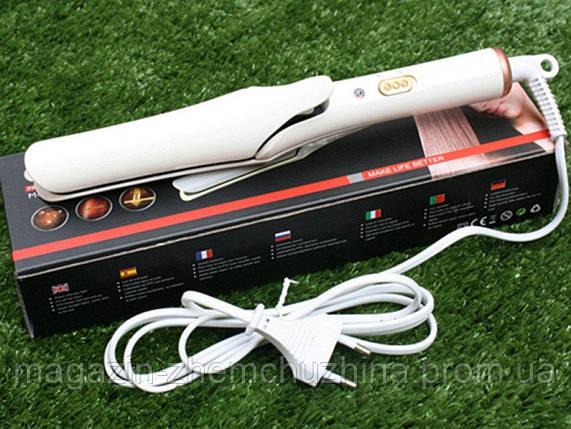 SALE! Плойка Выпрямитель для волос GEMEI GM-2956 с керамическим покрытием(ВЫРАВНИВАТЕЛЬ), фото 2