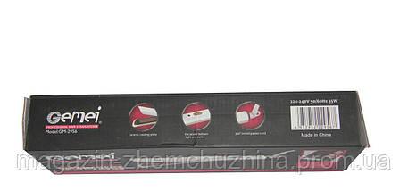 SALE! Плойка Выпрямитель для волос GEMEI GM-2956 с керамическим покрытием(ВЫРАВНИВАТЕЛЬ), фото 3