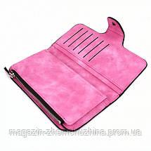 SALE! Женский замшевый клатч Baellerry 2345 Розовый, фото 2