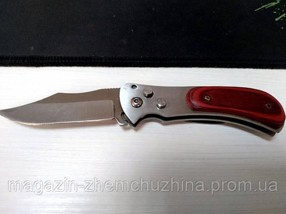 SALE! Cкладной нож с коричневой ручкой, фото 2