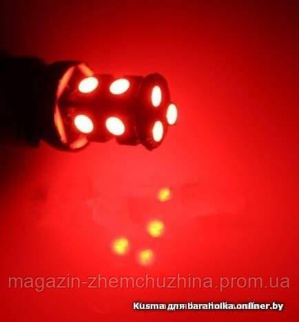 Sale! Светодиодная лампа LED  5050-13 1157 12V SD (красный) Комплект - 2 шт. !!