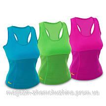 Sale! Женская спортивная Майка Hot Shapers ЧЕРНЫЙ размер XL, фото 3