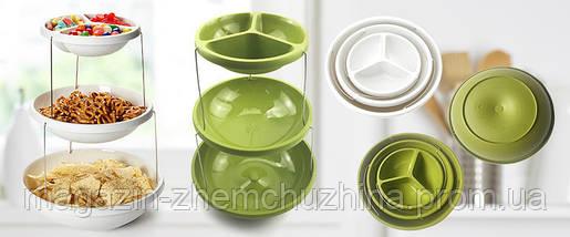 SALE!Складная ваза Twistfold Party Bowls(СИНЯЯ), фото 3