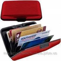 SALE!Кошелек-визитница Large Aluma Wallet XL Золотой, Синий, Розовый, фото 2