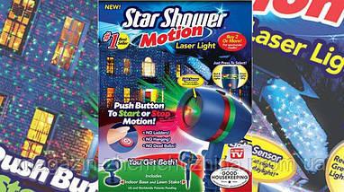 Sale! НОВОГОДНИЙ ЗВЕЗДНЫЙ ПРОЕКТОР STAR SHOWER MOTION!Акция, фото 3