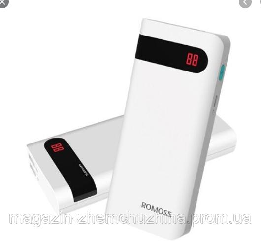 Sale! Мобильная Зарядка POWER BANK 20000 Romoss 4p