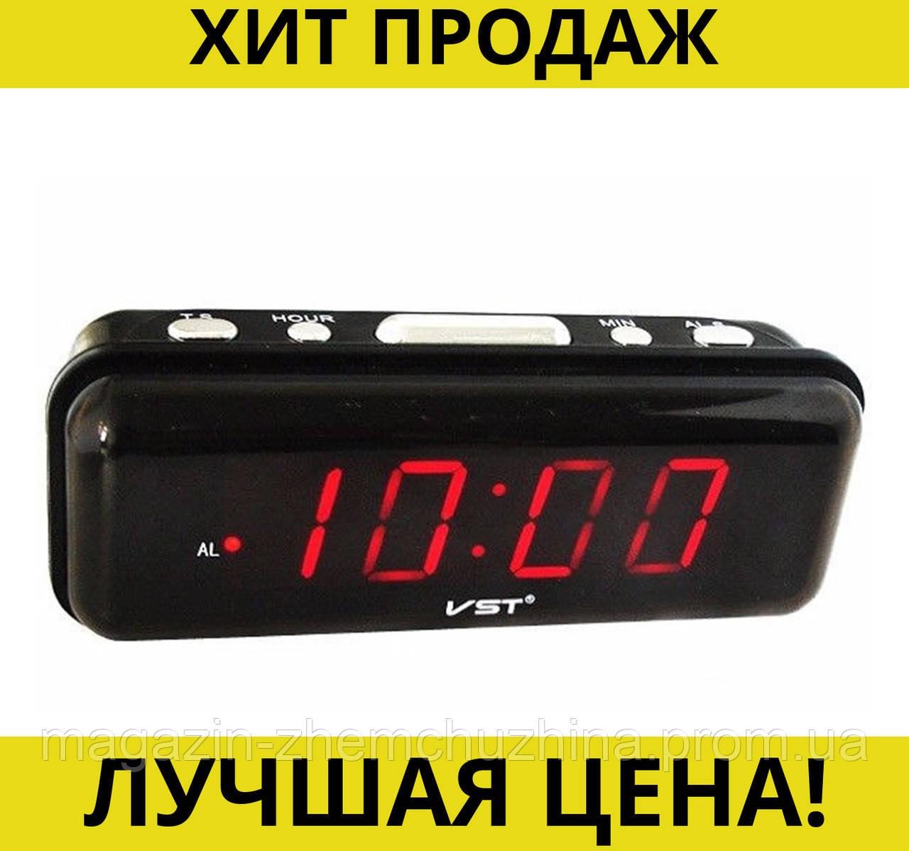 Sale! Часы электронные VST 738-1 с красной подсветкой