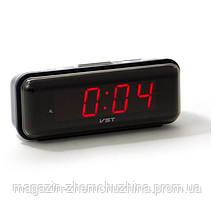 Sale! Часы электронные VST 738-1 с красной подсветкой, фото 3