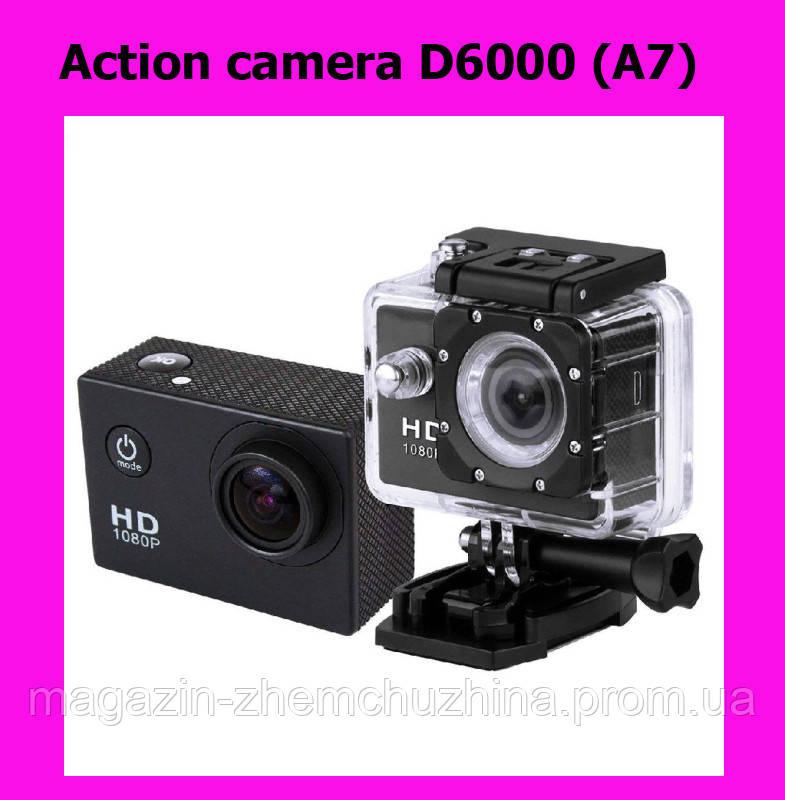 Sale! Action camera D6000 (A7)
