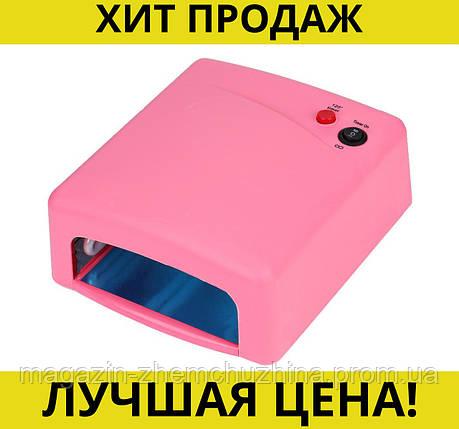 Sale! Ультрафиолетовая лампа для наращивания ногтей UV Lamp 36 Watt ZH-818, фото 2
