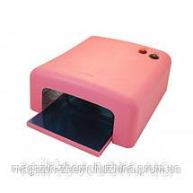 Sale! Ультрафиолетовая лампа для наращивания ногтей UV Lamp 36 Watt ZH-818, фото 3