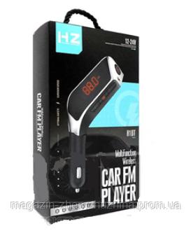 Sale! FM модулятор HZ FM-H1BT Black, фото 2