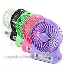Sale! Портативный настольный вентилятор Portable Fan Mini- Новинка, фото 2