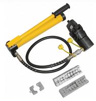 Пресс гидравлический ручной ПГР-400Н IEK с насосом для опрессовки наконечников 16-400мм²