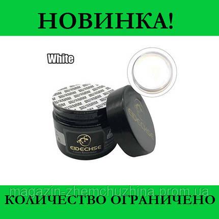 Sale! Крем-краска Белая (жидкая кожа) для кожаных изделий EIDECHSE, фото 2
