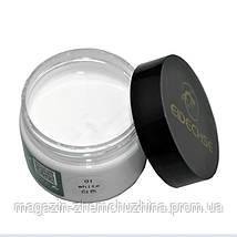 Sale! Крем-краска Белая (жидкая кожа) для кожаных изделий EIDECHSE, фото 3